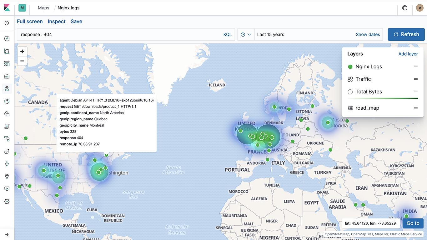 Maps für Analyse von Geodaten  Maps on