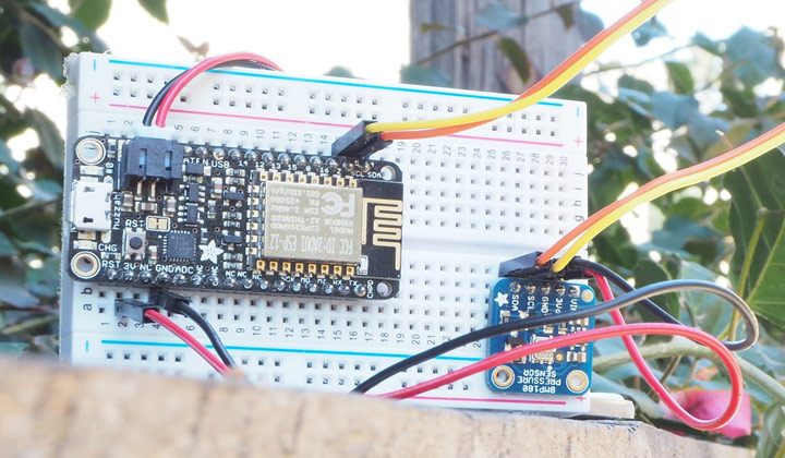 An Arduino-Based Home Weather Station Built with Arduino